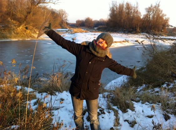 Ein wunderschöner Wintertag in den Donauauen