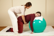 Shiatsu in all fourth position gives a big relieve for your back