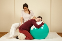 The ball is a helpful tool for the time before and during birth