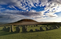 Stone circles are mystical places in the Lake District