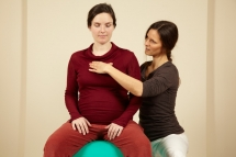 Shiatsu during pregnancy supports centering and connecting to your heart