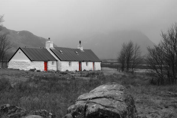 Bothy in Scotland
