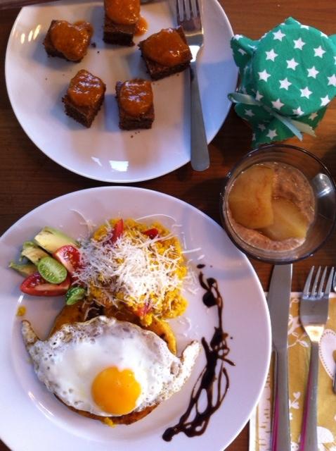 wärmendes Frühstück