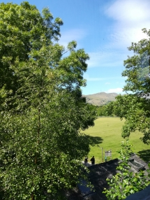 View from my Shiatsu space in Ambleside