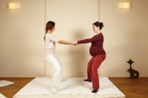 Partner excercises for birth